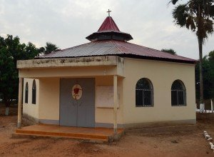 The C.PP.S. chapel in Guinea Bissau.